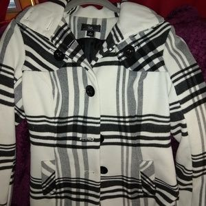 Small Iz Byer Single Breasted Coat